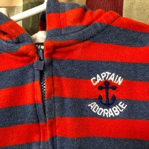 Carter's Shirts & Tops - 9 month Carter's Just One You zip up sweatshirt